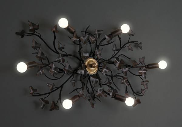 Plafoniera Officina : Edera lampadari plafoniere officina ciani